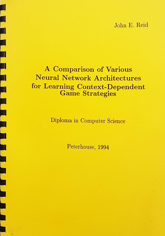 Cover of the thesis describing Fatboy